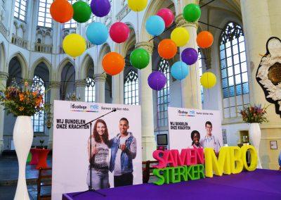 1 - 2-nice - Event - Styling - Evenement - Aankleding - Inrichting - Kerk - Leiden - ID - College - Leiden
