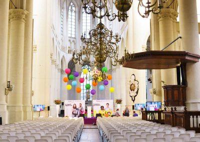 3 - 2-nice - Event - Styling - Evenement - Aankleding - Inrichting - Kerk - Leiden - ID - College - Leiden