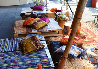 5 - Effectgroep - Personeelsfeest - Event - Styling - Aankleding - Inrichting - Evenement - Vintage - Festival - Decoratie - Outdoor