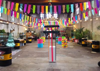 4 Metaal Kathedraal - Utrecht - WVS Congres - Congrestival - 2-nice - Eventstyling - Festival - Parade - Decoratie - Styling