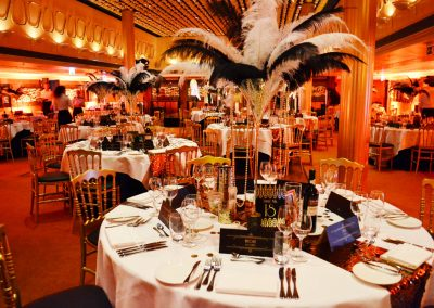 1 - 2-nice - Event Styling - Aethon - Jubileum - Diner - Great Gatsby - SS Rotterdam