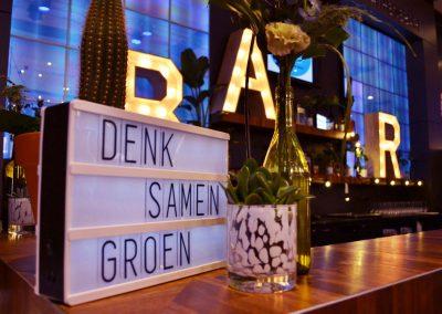 13 - 2-nice - Eventstyling - Papendal - Arnhem - VNG Belastingconferentie 2018 - Naar een duurzaam belastingklimaat - Groen - Recycle - Concept op maat