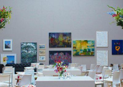 2 - Den Haag - Catering Meesters - Pulchri Studio - Nieuwe Huisstijl - Tentoonstelling - Presentatie - Styling